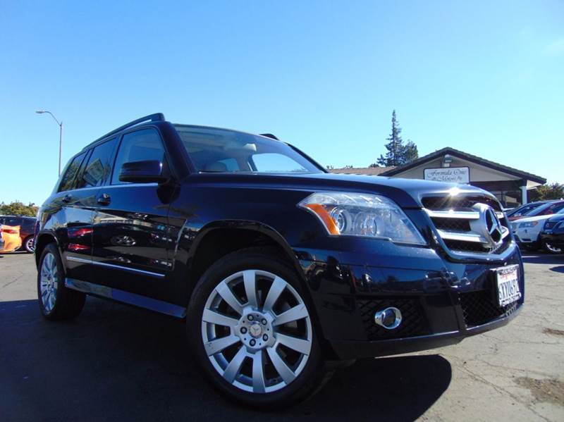 2010 MERCEDES-BENZ GLK GLK 350 4MATIC AWD 4DR SUV dark blue 2-stage unlocking doors 4wd type - f