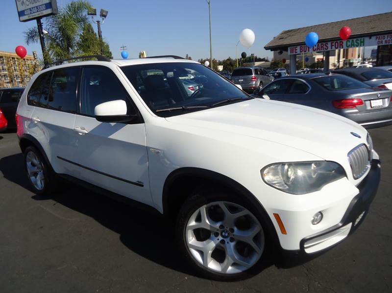 2008 BMW X5 48I AWD 4DR SUV white fully loaded  bmw x5 excellent color combination eqipped