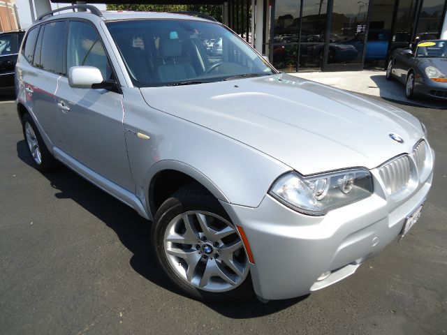 2007 BMW X3 30SI silver clean car fax california carsportpremium pkg clean in and outcome in a