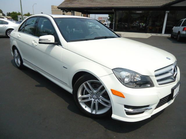 2012 MERCEDES-BENZ C-CLASS C250 SPORT 4DR SEDAN white new in our inventory  1-owner california