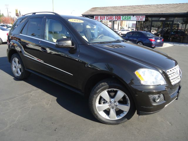 2011 MERCEDES-BENZ M-CLASS ML350 4DR SUV metallic verde brook still under factory warranty 2011
