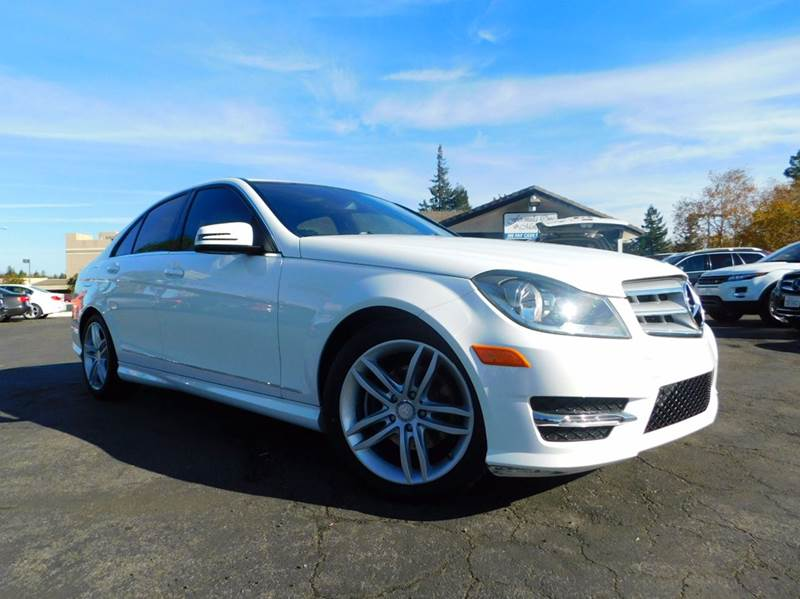 2013 MERCEDES-BENZ C-CLASS C 250 LUXURY 4DR SEDAN white 2-stage unlocking doors abs - 4-wheel a