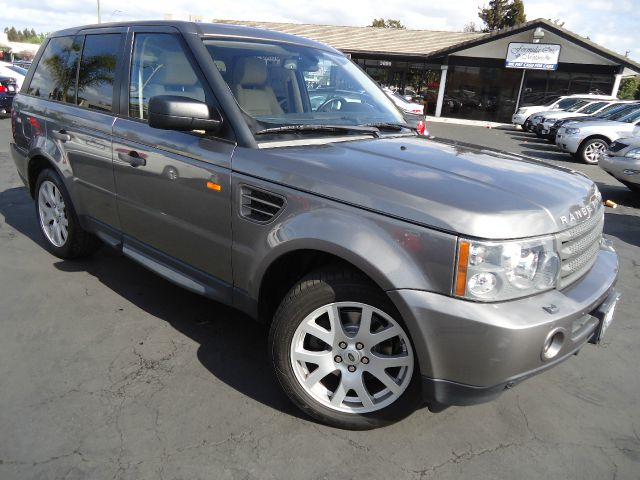 2007 LAND ROVER RANGE ROVER SPORT HSE stornoway gray metallic luxury pkg navigation rear seat ent