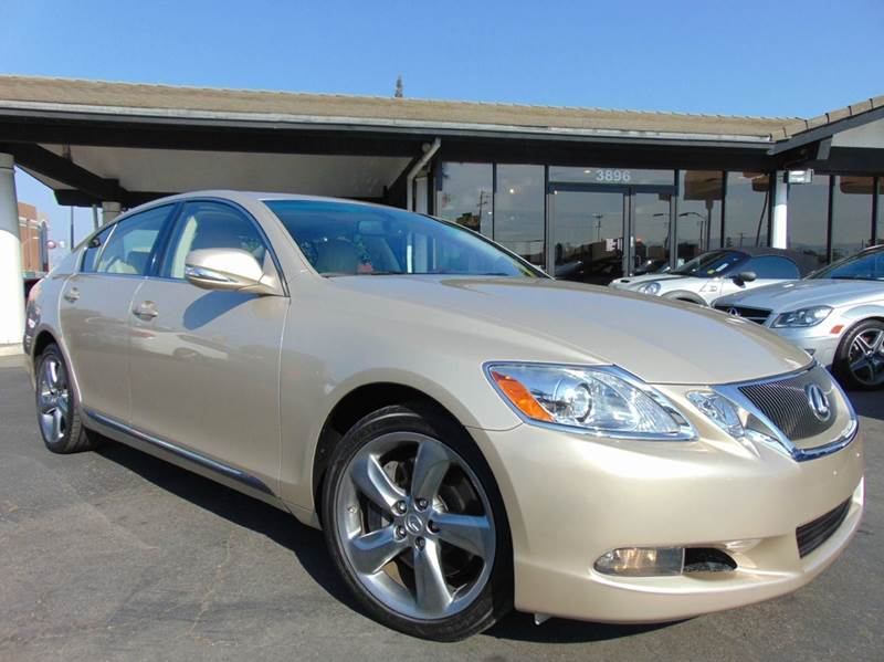 2010 LEXUS GS 350 BASE 4DR SEDAN gold one ownerclean carfax reportcalifornia vehicleth