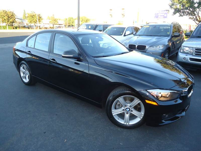 2012 BMW 3 SERIES 328I 4DR SEDAN SULEV black 1 owner california vehicle comes with the remaind