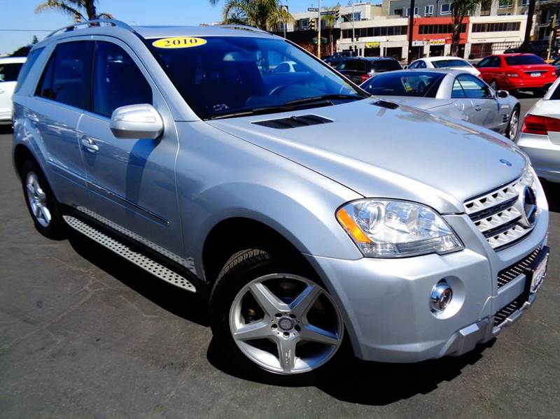 2010 MERCEDES-BENZ M-CLASS ML550 AWD 4MATIC 4DR SUV silver 1 owner  cal carclean carfax