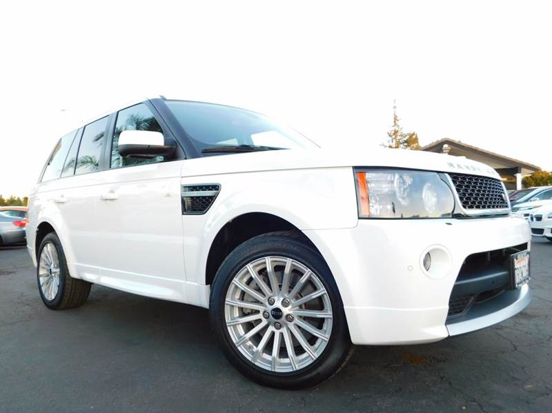 2013 LAND ROVER RANGE ROVER SPORT HSE GT LIMITED EDITION 4X4 4DR S white 2-stage unlocking doors