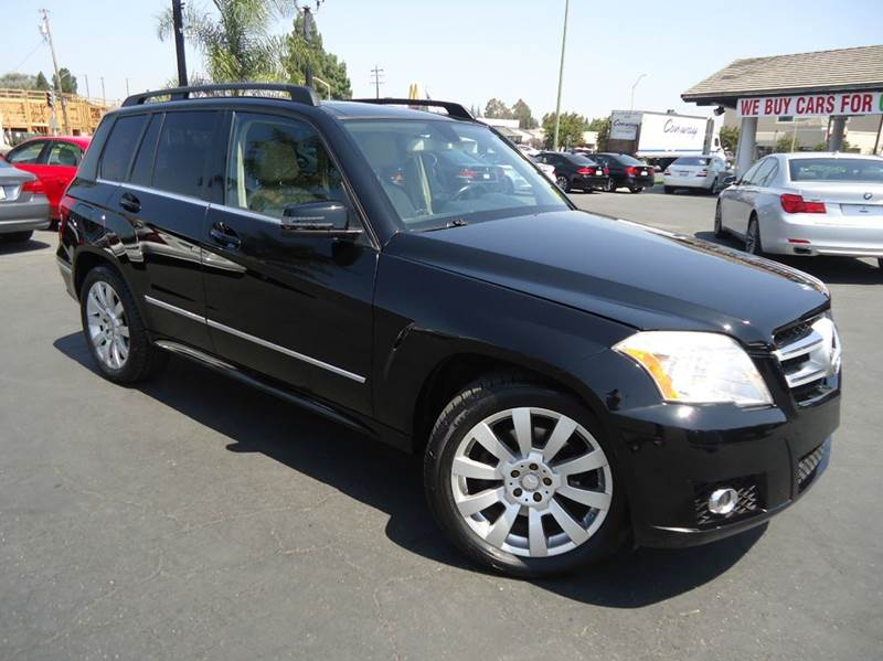 2011 MERCEDES-BENZ GLK-CLASS GLK350 4MATIC AWD 4DR SUV black fully loaded 4matic with navigati