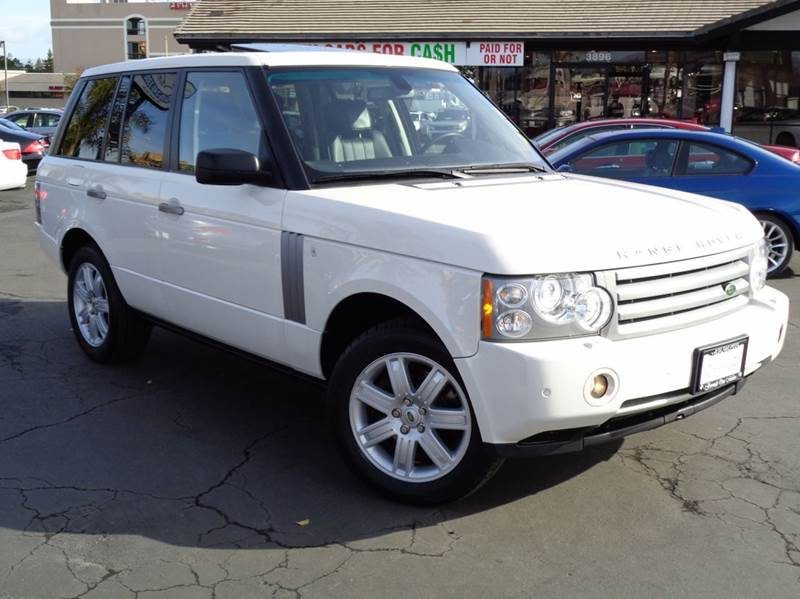 2008 LAND ROVER RANGE ROVER HSE 4X4 4DR SUV white extra clean luxury package 2 dvd screen