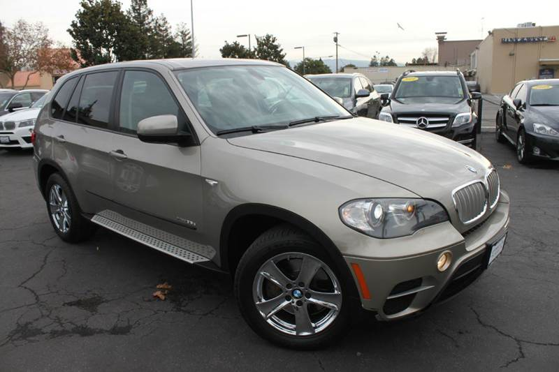 2011 BMW X5 XDRIVE35D AWD 4DR SUV brown 30 liter twin turbo all wheel drive diesel3rd row sea