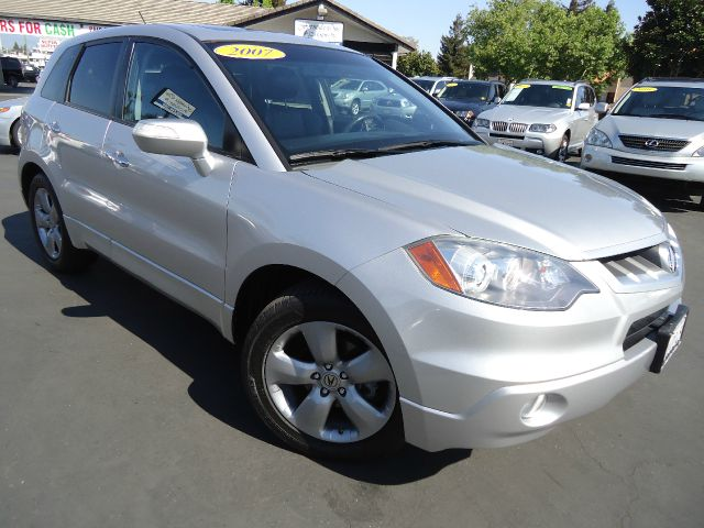 2007 ACURA RDX 5-SPD AT alabaster silver metallic acura rdx stands tall as one of the more compell