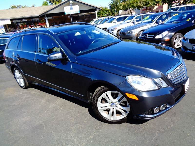 2011 MERCEDES-BENZ E-CLASS E350 SPORT 4MATIC AWD 4DR WAGON gray 1 ownerclean carfaxcaliforn