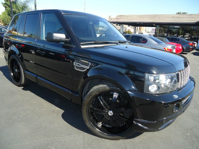 2007 LAND ROVER RANGE ROVER SPORT HSE 4DR SUV 4WD black new in our inventory  2007 range rover