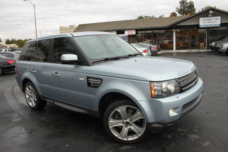 2012 LAND ROVER RANGE ROVER SPORT HSE LUX 4X4 4DR SUV indus silver-metalic 2-stage unlocking doors
