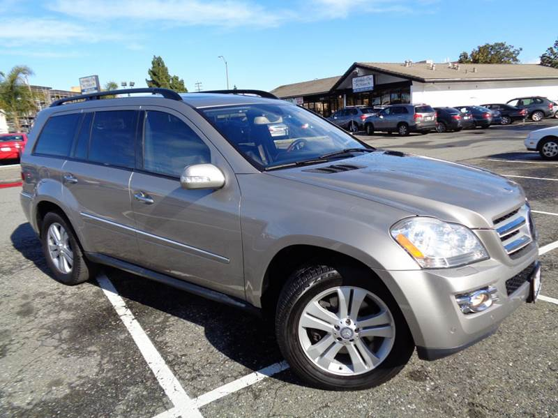 2008 MERCEDES-BENZ GL-CLASS GL450 AWD 4MATIC 4DR SUV tan clean carfax loaded navigation