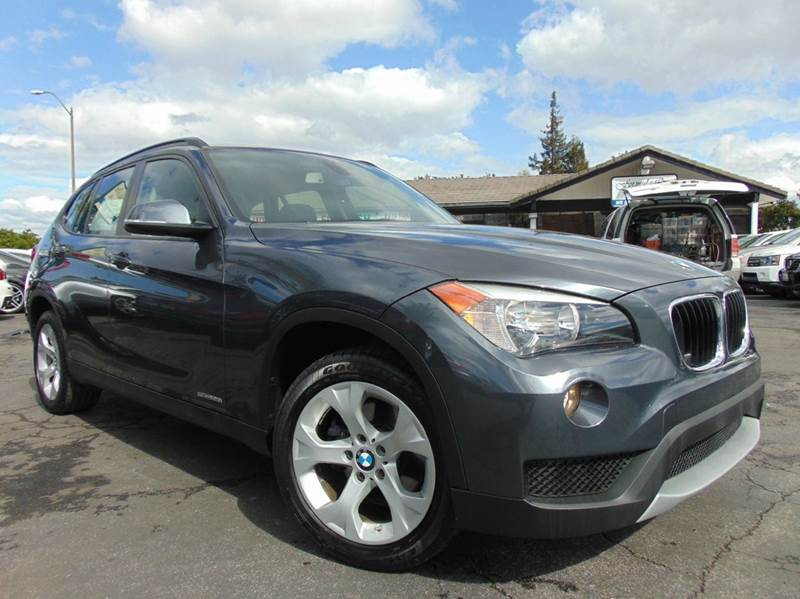 2014 BMW X1 SDRIVE28I 4DR SUV gray 2-stage unlocking doors abs - 4-wheel active head restraints
