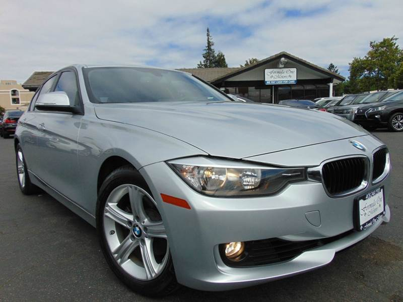 2013 BMW 3 SERIES 328I 4DR SEDAN silver one ownerclean carfax reportcalifornia vehicle