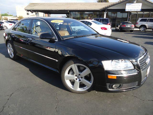 2007 AUDI A8 QUATTRO AWD 4DR SEDAN black california car  one owner clean car faxrear electric b