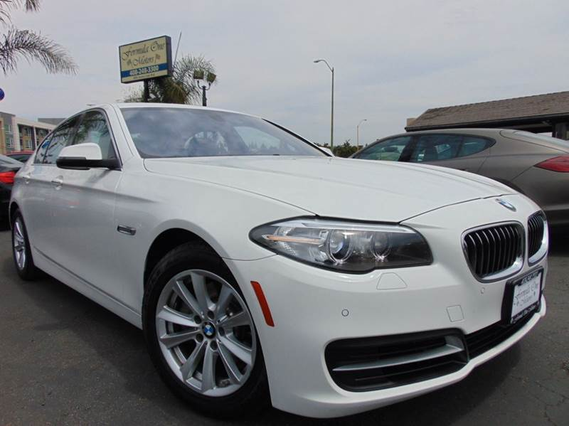 2014 BMW 5 SERIES 528I 4DR SEDAN white clean carfax reportone ownercalifornia vehiclen