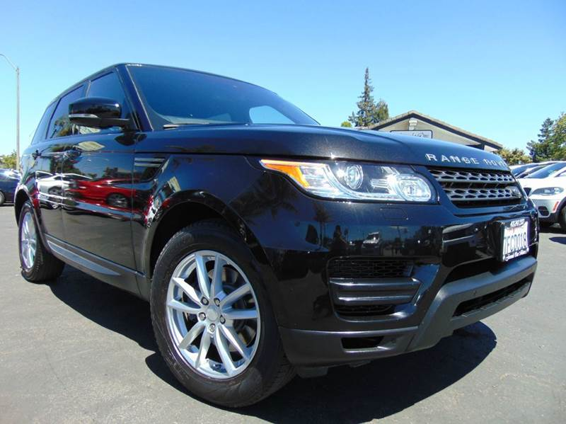 2014 LAND ROVER RANGE ROVER SPORT SE 4X4 4DR SUV black one ownerclean carfax reportcalifo