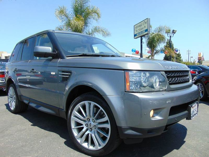 2010 LAND ROVER RANGE ROVER SPORT HSE 4X4 4DR SUV gray clean carfaxcalifornia vehicleall m