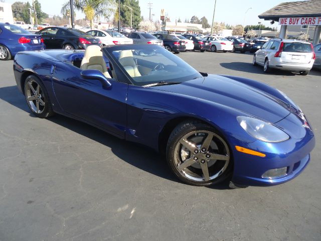 2007 CHEVROLET CORVETTE BASE 2DR CONVERTIBLE blue new arrival true american muscle 2007 chevro