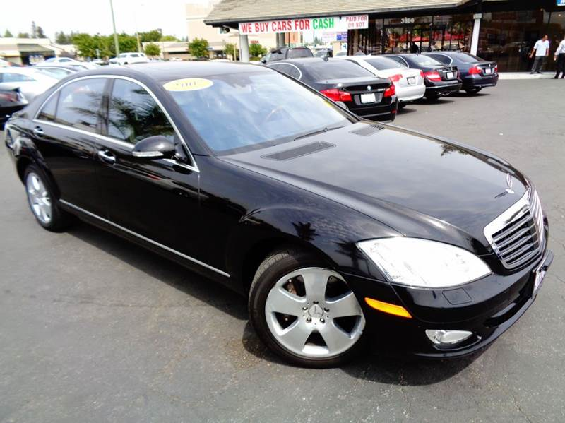 2007 MERCEDES-BENZ S-CLASS S550 4MATIC AWD 4DR SEDAN black 2-stage unlocking doors 4wd type - fu