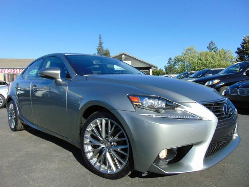 2014 LEXUS IS 250 BASE 4DR SEDAN champagne one ownerclean carfaxcalifornia vehicleload