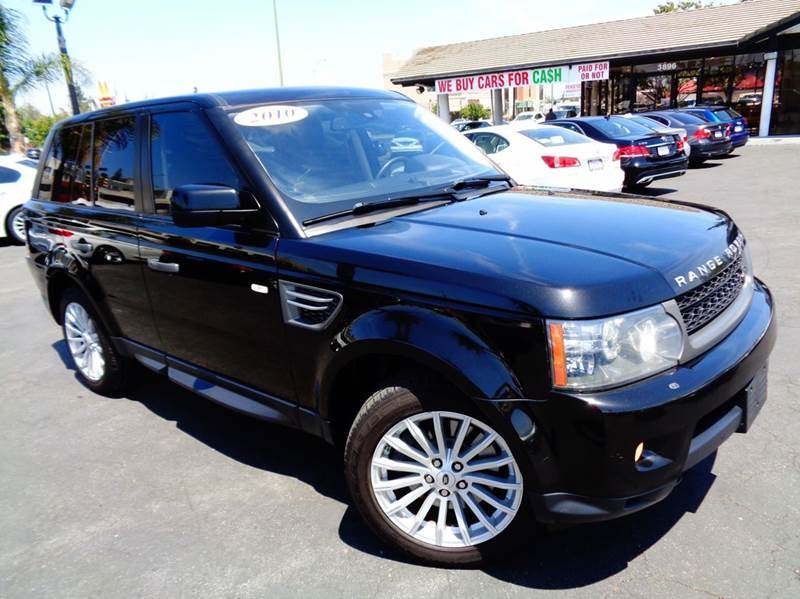 2010 LAND ROVER RANGE ROVER SPORT HSE 4X4 4DR SUV black clean carfax luxury navigation syste