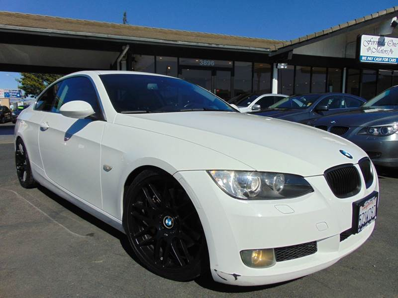 2007 BMW 3 SERIES 335I 2DR COUPE white clean carfax history reportcalifornia vehicleall m