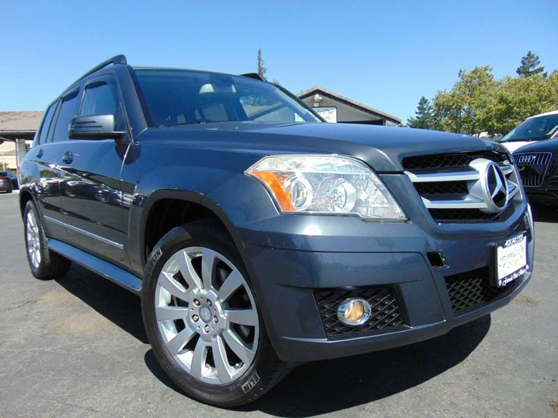 2010 MERCEDES-BENZ GLK GLK 350 4DR SUV gray clean carfax reportcalifornia vehicleall main