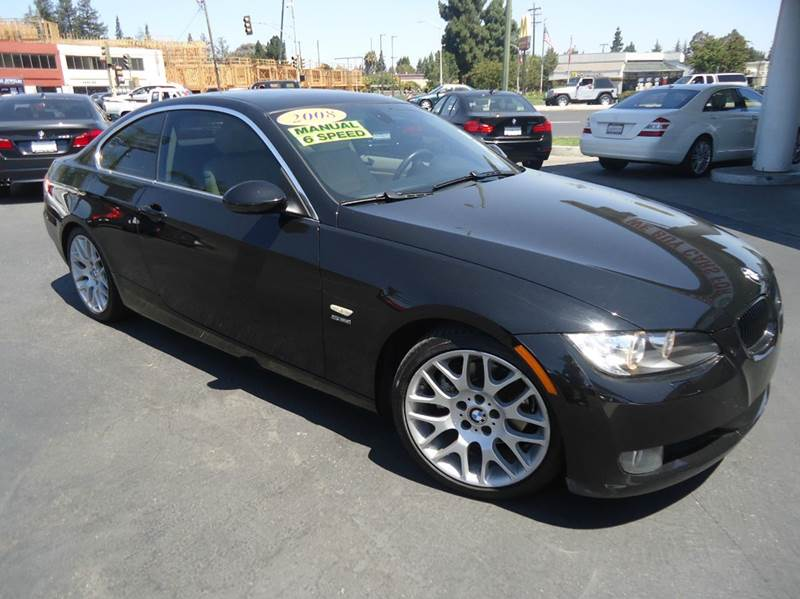 2008 BMW 3 SERIES 328I 2DR COUPE black rear find 6 speed manual transmissionsport package