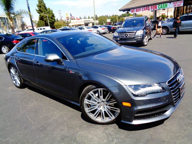 2013 AUDI A7 30T QUATTRO PRESTIGE AWD 4DR SE gray 2-stage unlocking doors 4wd type - full time