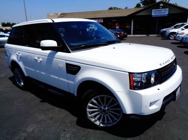 2012 LAND ROVER RANGE ROVER SPORT HSE 4X4 4DR SUV white clean california vehicle clean carfax