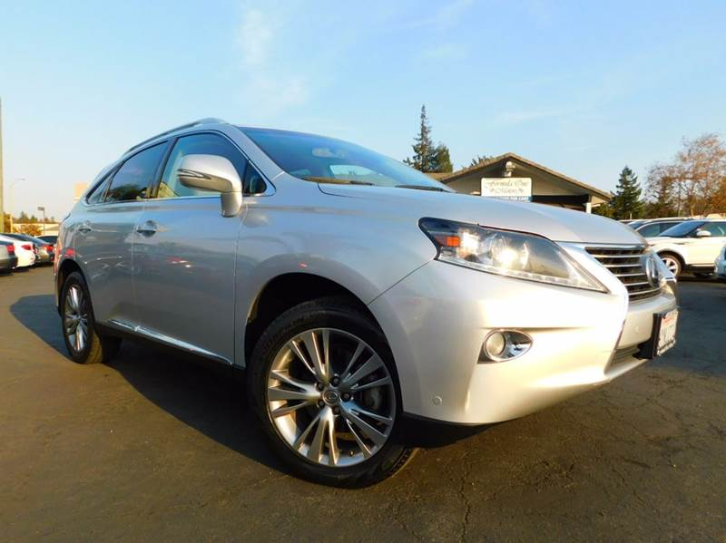 2013 LEXUS RX 350 BASE 4DR SUV silver 2-stage unlocking doors abs - 4-wheel active head restrain