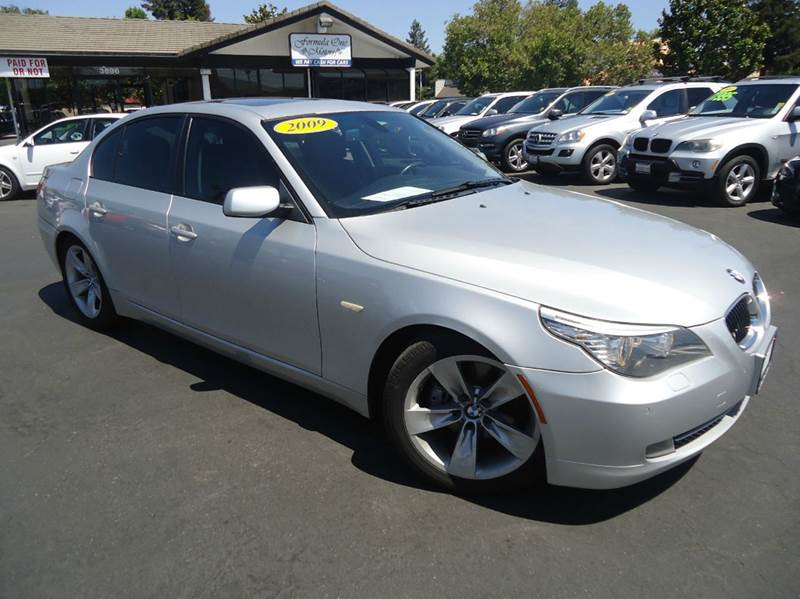2009 BMW 5 SERIES 528I 4DR SEDAN silver abs - 4-wheel air filtration - active charcoal airbag d
