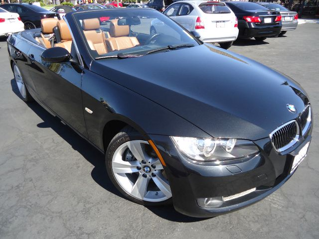 2007 BMW 3 SERIES 335I CONVERTIBLE black seph metallic clean car fax california carfantastic colo