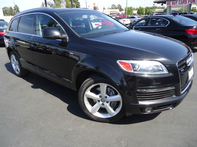 2007 AUDI Q7 42 QUATTRO PREMIUM phantom black pearl efect s line package - transmission with shif
