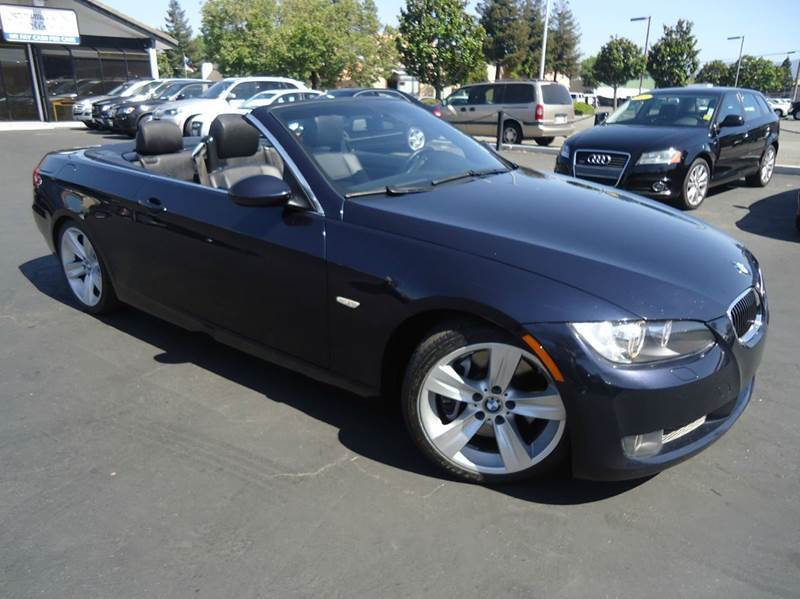 2007 BMW 3 SERIES 335I 2DR CONVERTIBLE blue 2-stage unlocking - remote abs - 4-wheel air filtra