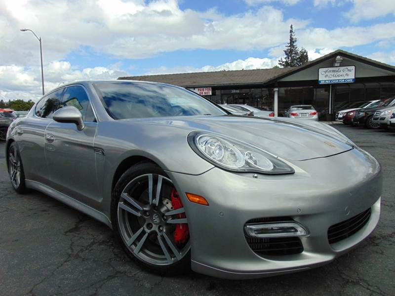 2010 PORSCHE PANAMERA TURBO 4DR SEDAN silver one ownerclean carfaxcalifornia vehicle5