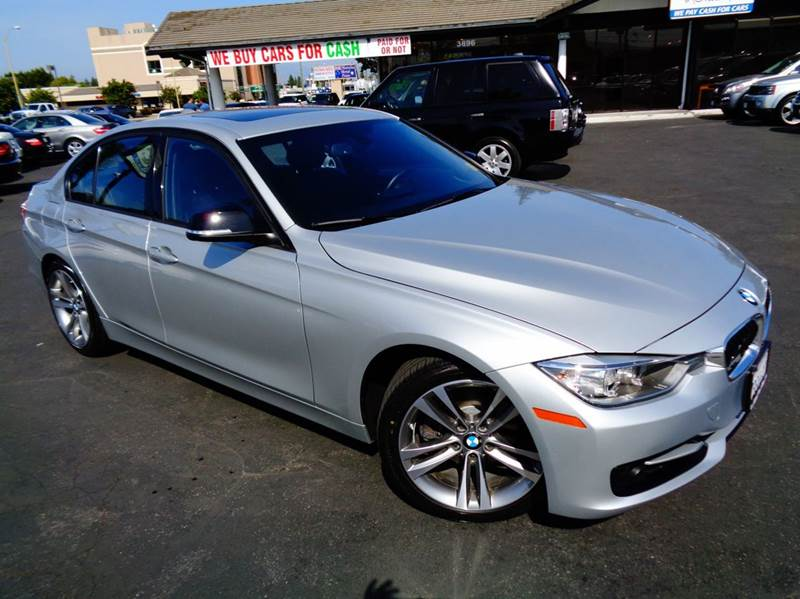 2013 BMW 3 SERIES 328I 4DR SEDAN SULEV silver clean carfax 1 owner navigation system rear