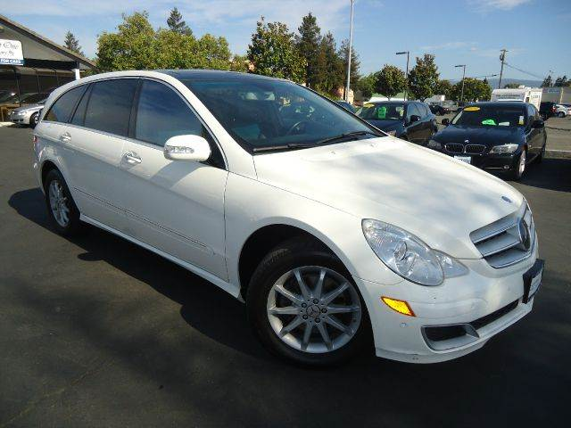 2007 MERCEDES-BENZ R-CLASS R350 AWD 4MATIC 4DR WAGON white fully loaded navigation systemba