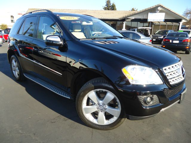 2009 MERCEDES-BENZ M-CLASS ML350 4MATIC black one owner clean car fax california unitonly 46k mil