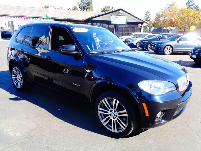 2011 BMW X5 XDRIVE50I AWD  SUV  M SPORT black clean carfax  m sport package  premium packag