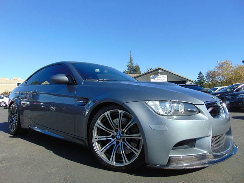 2011 BMW M3 BASE 2DR COUPE gray clean carfax history reportcalifornia vehicle6 spd manual