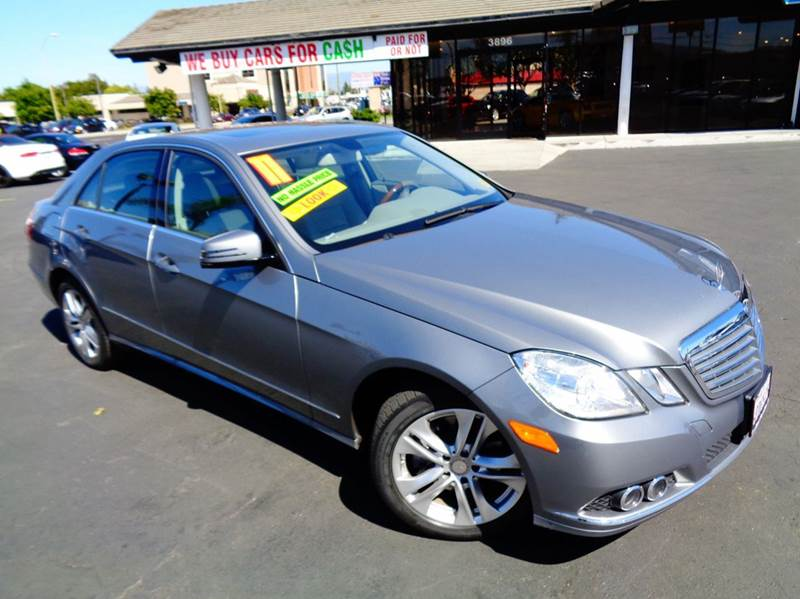 2011 MERCEDES-BENZ E-CLASS E350 SPORT 4DR SEDAN silver 1 owner clean carfax california vehicle