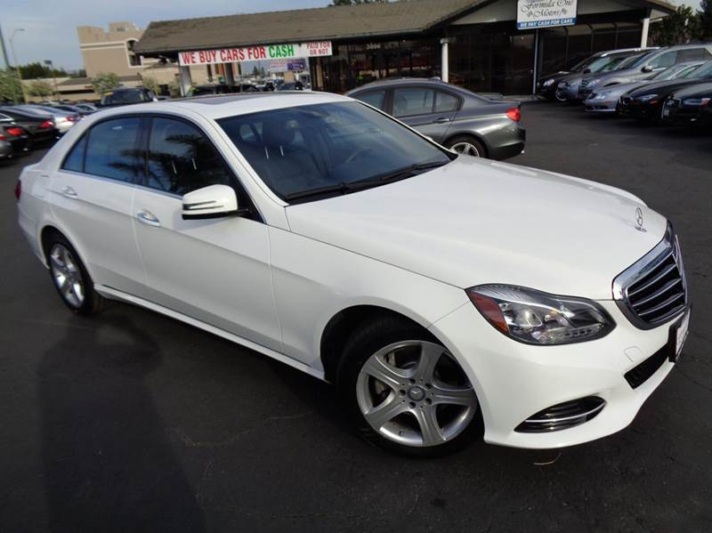 2014 MERCEDES-BENZ E-CLASS E350 SPORT 4DR SEDAN white 1 owner clean carfax comes equipped with