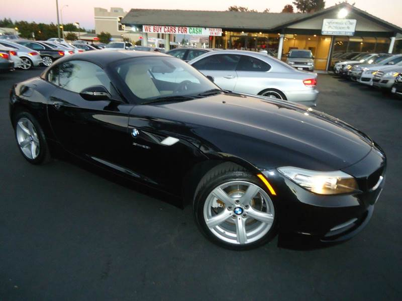 2012 BMW Z4 SDRIVE28I 2DR CONVERTIBLE black 1 owner clean carfax very low mileage comes