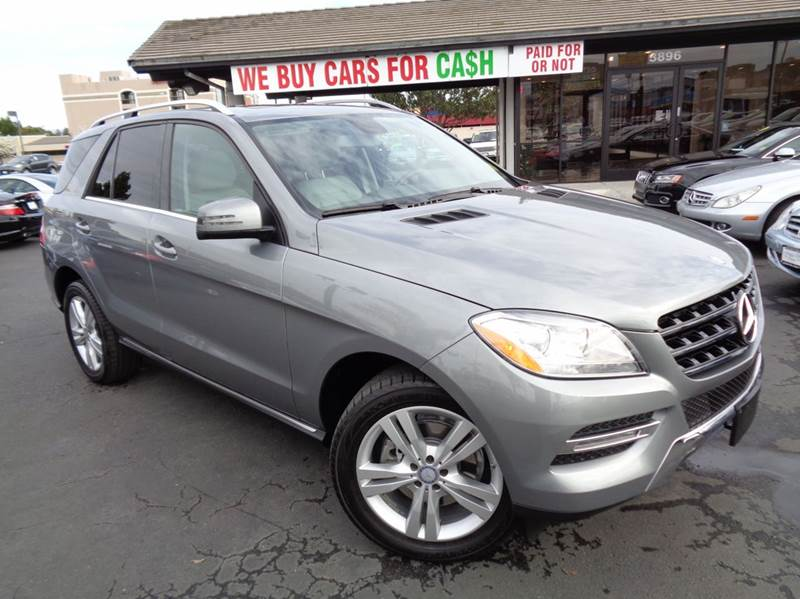2014 MERCEDES-BENZ M-CLASS ML350 4MATIC AWD 4DR SUV gray 2-stage unlocking doors 4wd type - full