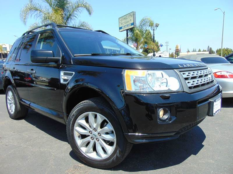 2012 LAND ROVER LR2 HSE AWD 4DR SUV black clean carfax reportcalifornia vehicleloaded with